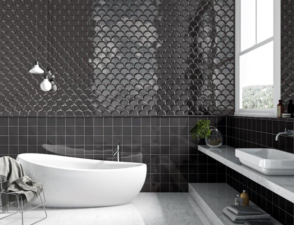 Fish scale grestec tiles tile supplier to architects for Carrelage italien