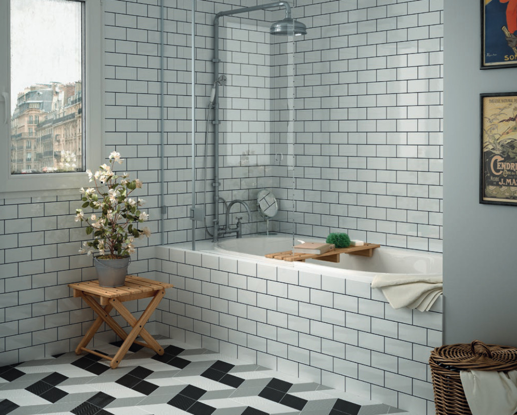 Tile trend metro tiles grestec tiles tile supplier to for Bathroom ideas 1920s home