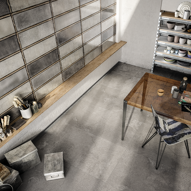 Industrial Glass Grey, Concrete Grey